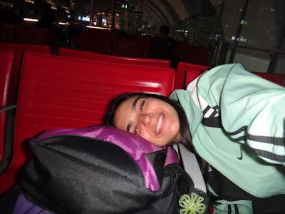 Dormindo no aeroporto de Dubai