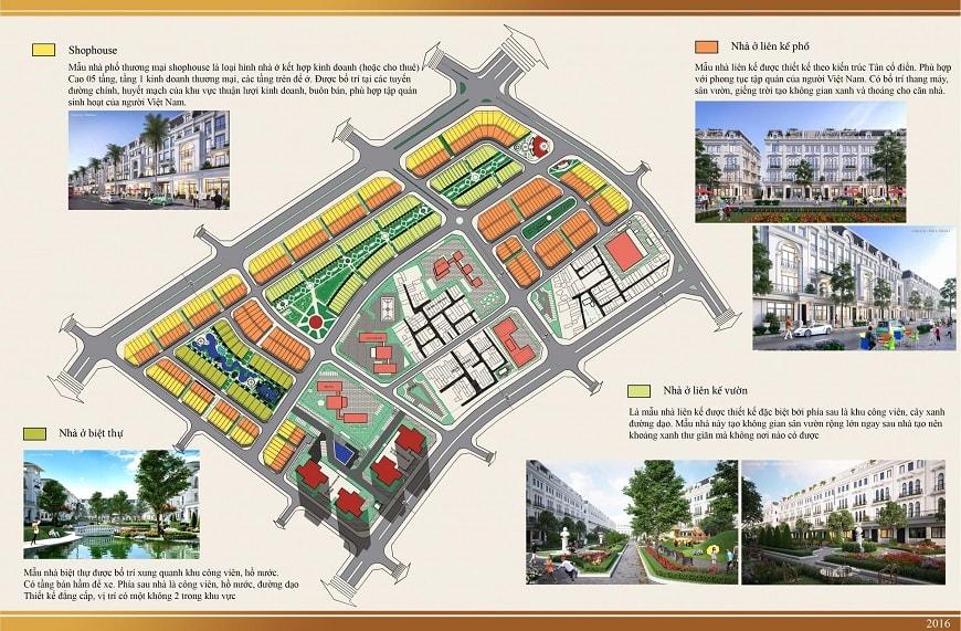 quy mô dự án louis city