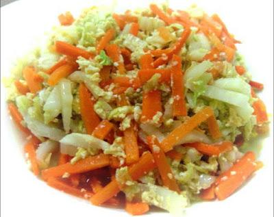 Cara membuat orak arik sayuran