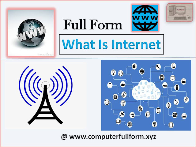 Internet Full Form | What Is Internet | How Its Work -