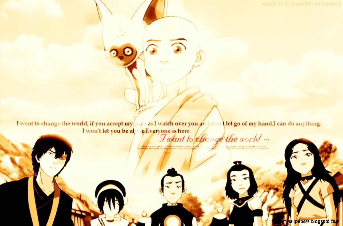Avatar In The Last Airbender Wallpapers Zoom Wallpapers