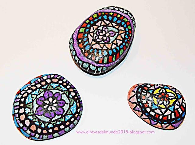 pintar piedras manualidades