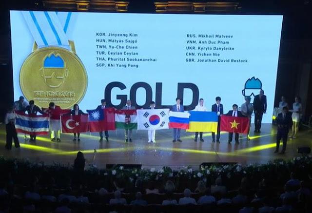 Thành tích của đoàn học sinh Việt Nam tham dự Olympic Hóa học và Vật lý quốc tế 2018