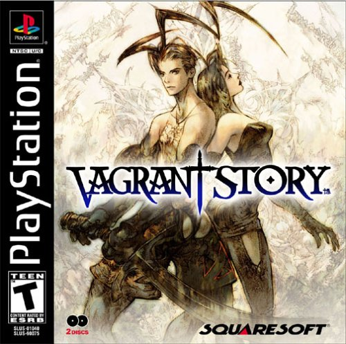 Vagrant Story - PSX - Portada