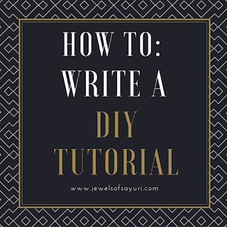 How to: Write a DIY Tutorial