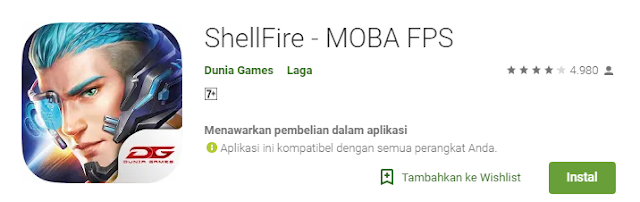 Game Strategi Moba Android Terbaik Shellfire