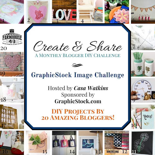 Create and Share January Challenge with Graphic Stock - One Mile Home Style