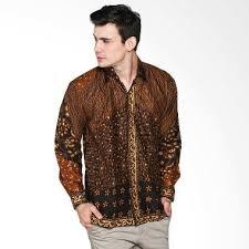 model baju batik Pria Untuk Kerja Terbaru