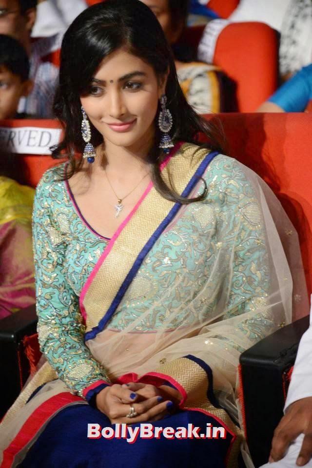 Pooja Hegde Photo Gallery, hot Pics of Pooja Hegde from Mukunda Movie Audi Launch