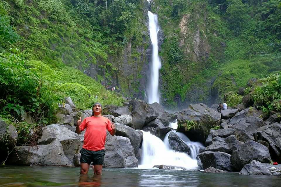 Bubuludtua Falls in Barira