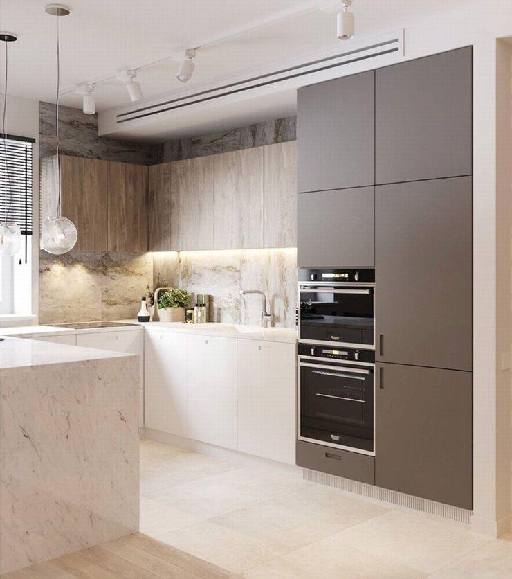 thiết kế thi công nội thất nhà bếp độc đáo 1