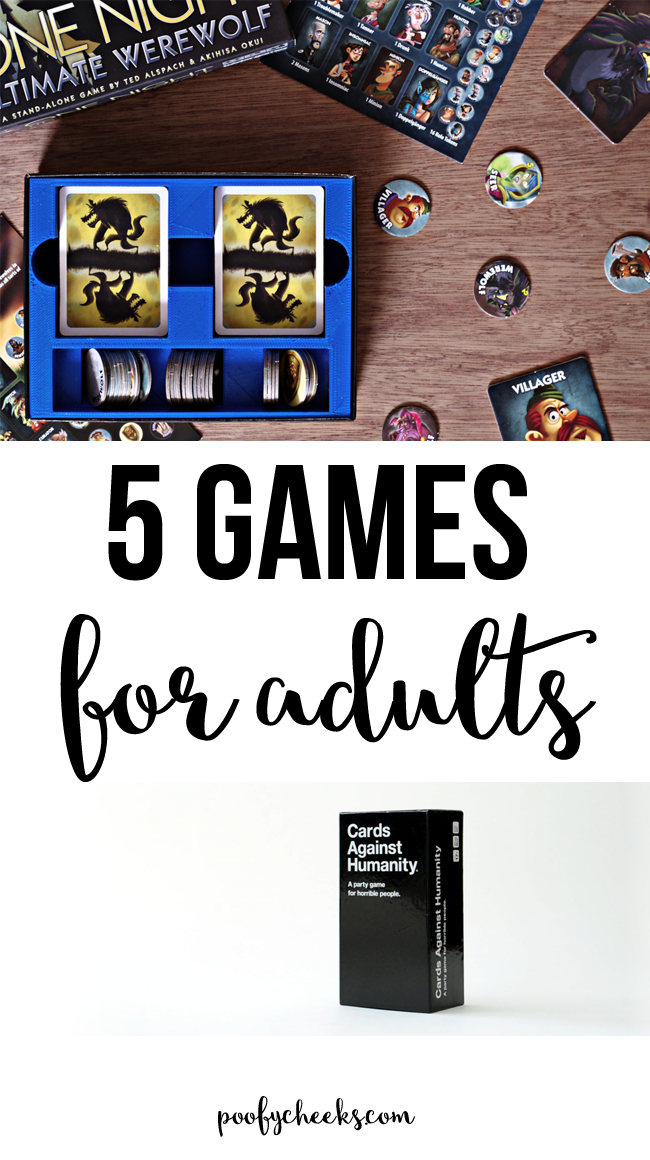 The 5 Best Party Games for Adults