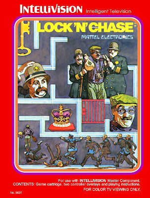 Lock 'n' Chase - Intellivision