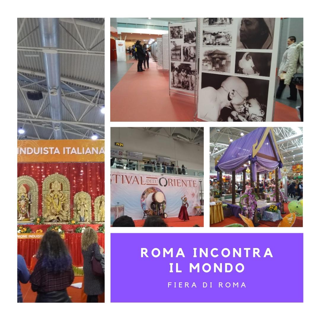 bcda70e010 Un mix che racchiude al suo interno una voglia innata di aprirsi alla  cultura e alle. Roma incontra il mondo alla Fiera ...