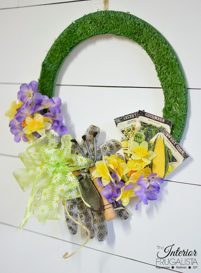 Budget-Friendly Dollar Store Spring Wreath
