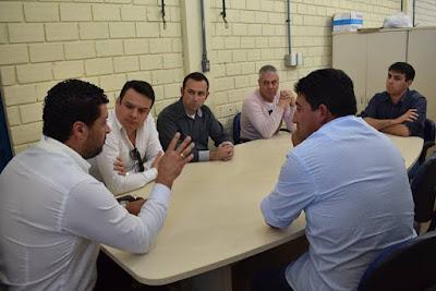 Comissão para busca de emprego e renda cumpre agenda em Candiota