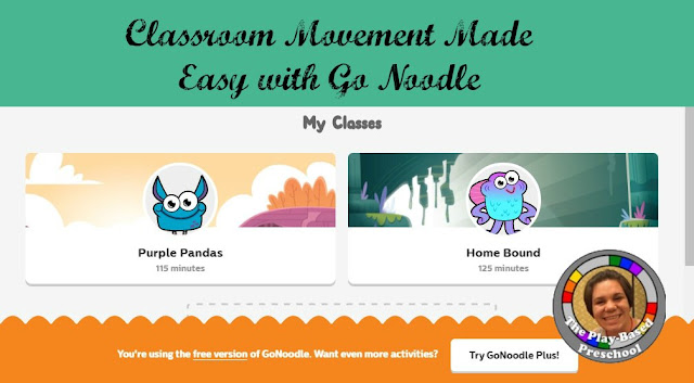 I found Go Noodle and I am in love! #MoveItMonday