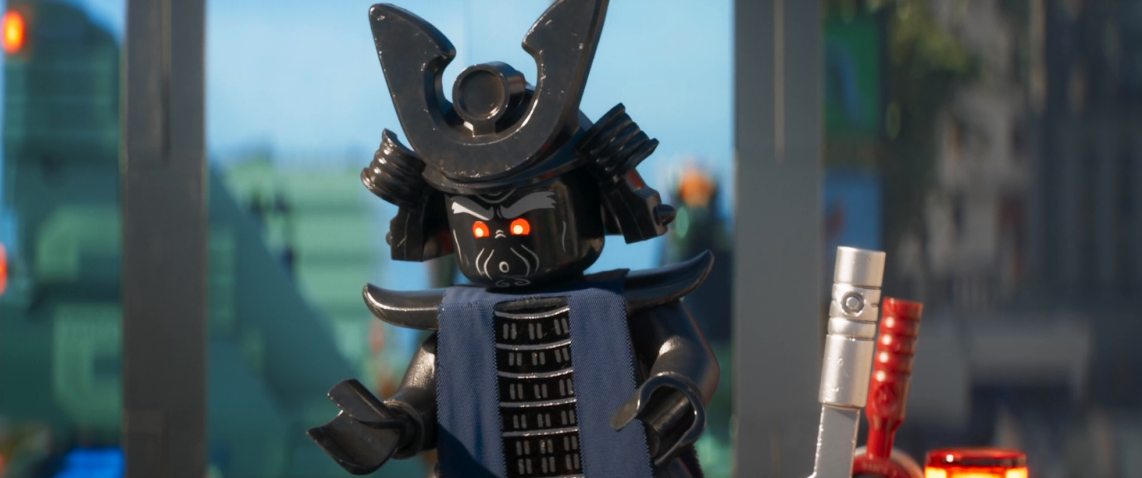 Lego Ninjago: La película (2017) BRRip 1080p Latino - Ingles captura 1
