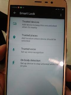 cara mengaktifkan jenis smart lock android