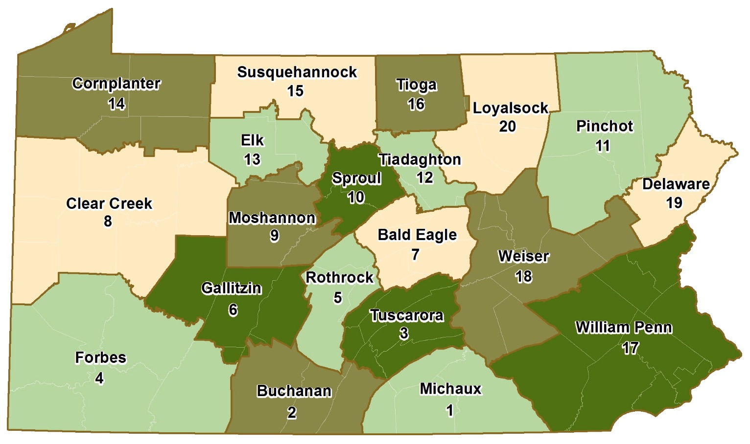 dcnr schedules last 4 state forest district management plan meetings