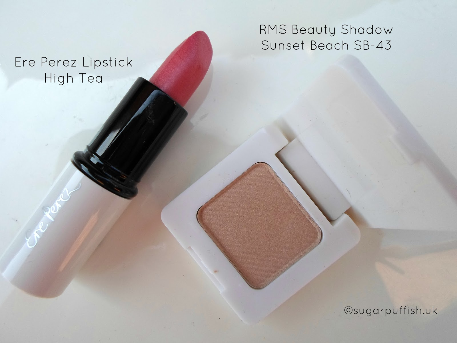 Ere Perez Rich Olive Oil Lipstick High Tea RMS Beauty Swift Shadow Sunset Beach SB43