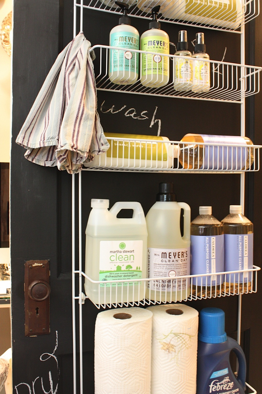 Ruang Laundry Minimalis My Sweet Savannah Laundry Room Organization