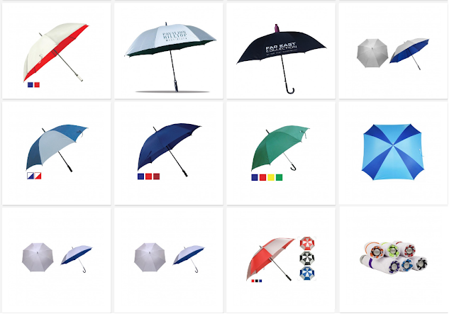 Customized Umbrellas