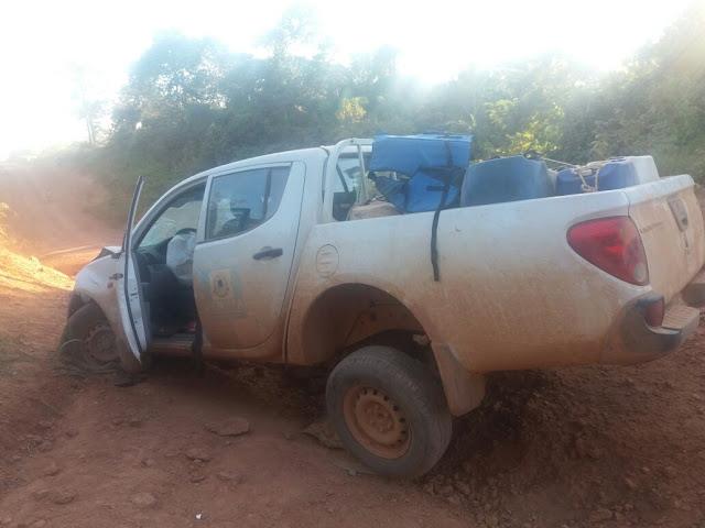 Jovem morre ao colidir com caminhonete da Semusa na Estrada da Penal