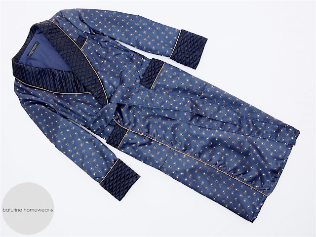 mens paisley silk dressing gown dark navy blue long quilted robe luxury english smoking jacket
