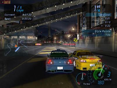 Abandonware Games / Need For Speed Underground