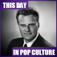 Billy Graham was born on November 7, 1918