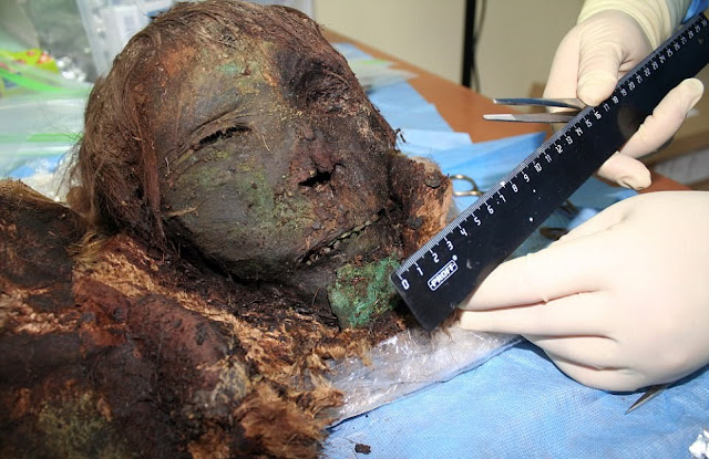 900-year-old mummy of 'Polar princess' discovered near Arctic Circle