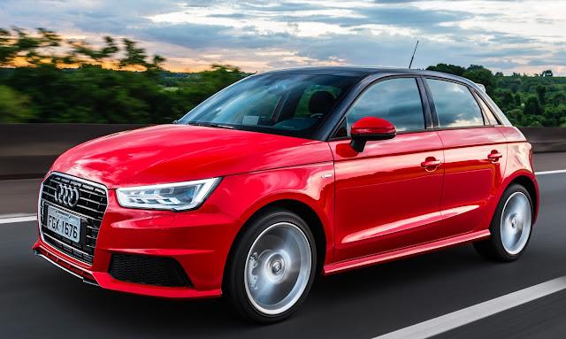 Audi A1 2016, mais potente, chega ao Brasil