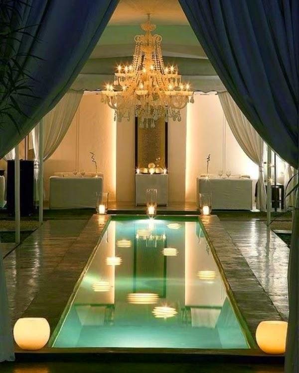 modelo piscina en casa