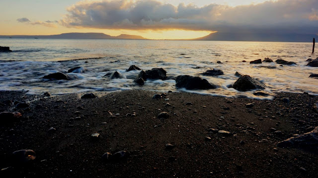 Sunrise Pantai Cacalan Banyuwangi