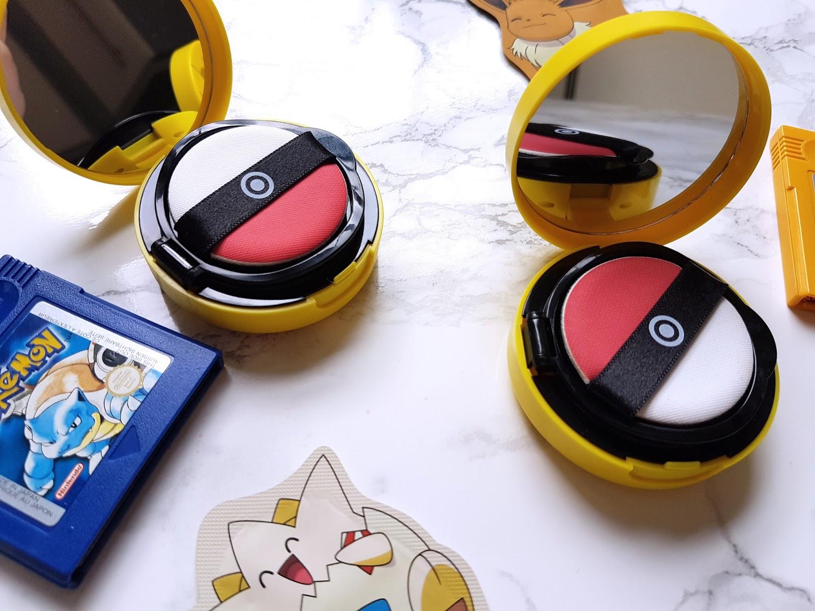 Tony Moly Pokemon Foundation Swatch Skin Beige