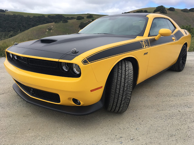 Front 3/4 view of 2017 Dodge Challenger T/A 392