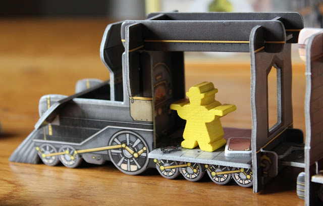 Colt Express - Marshal in locomotive