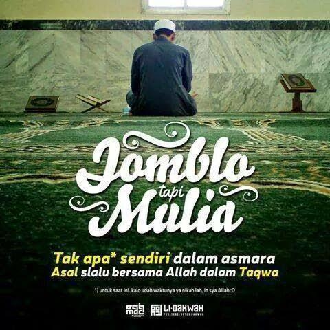 Kata Kata Jomblo Dalam Islam