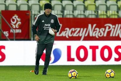 Manda Osorio seis cambios ante Polonia