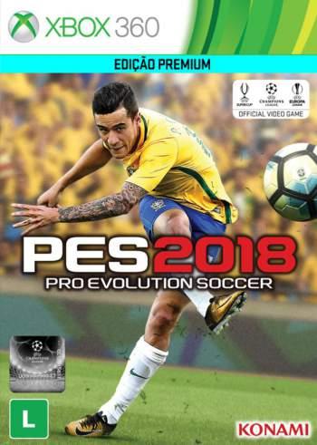PES 2018: Pro Evolution Soccer 2018 PT-BR (LT e JTAG/RGH) Xbox 360 Torrent