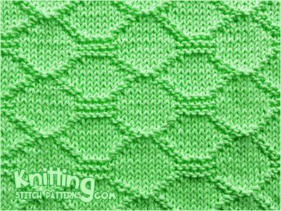 Quilt Block - Knitting Stitch Patterns