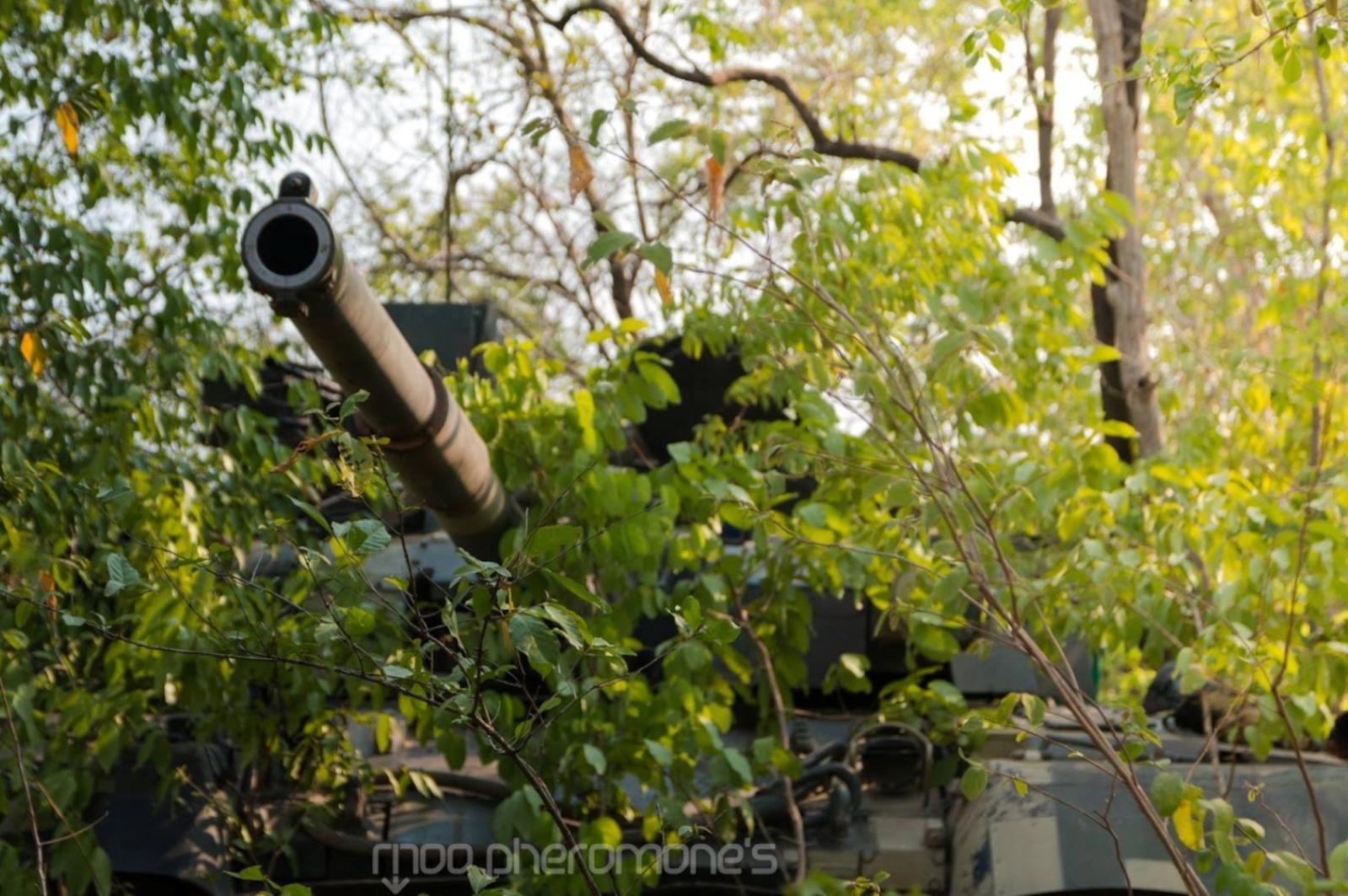 Танки «Оплот-Т» Royal Thai Army
