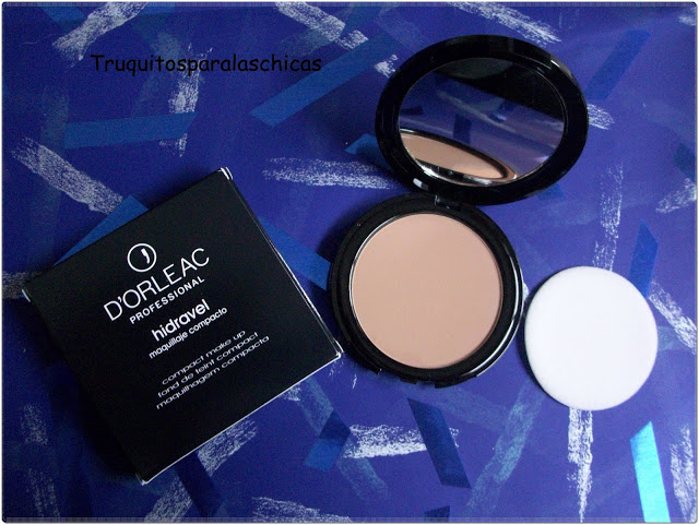 MAQUILLAJE COMPACTO HIDRAVEL d'orleac