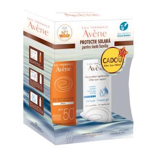 Pachet Avene protectie solara factor 50+