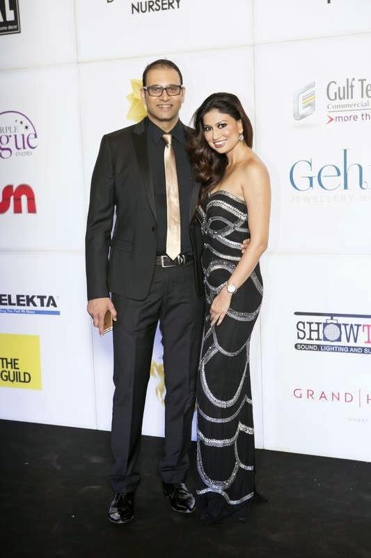 Yogesh and Uma Ghosh Deshpande, Masala! Awards 2014 Photo Gallery