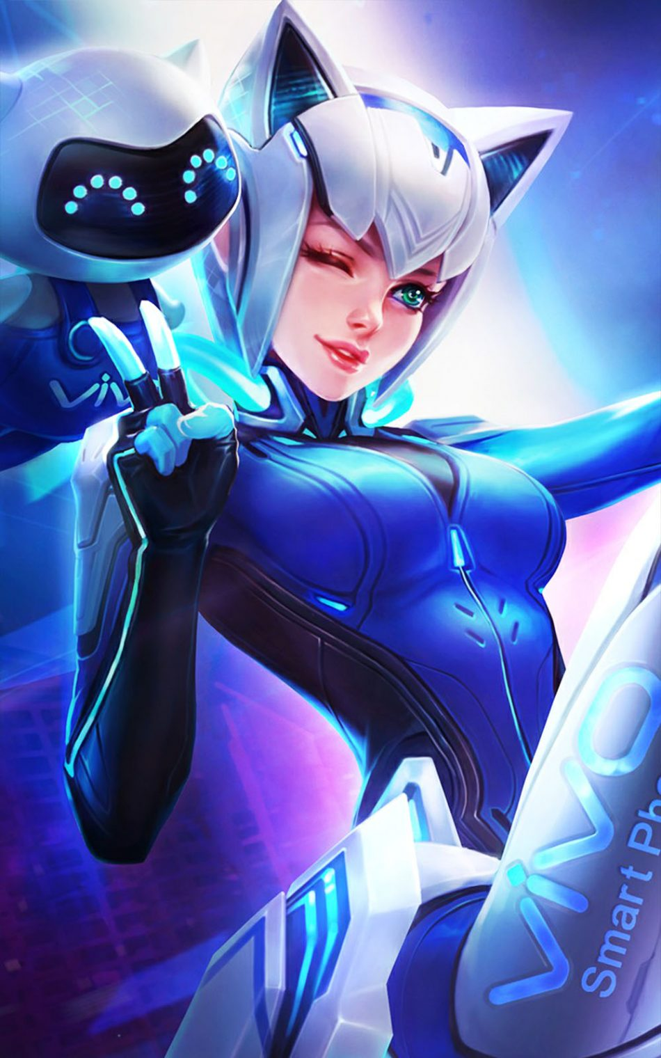 download wallpaper Eudora mobile legends hd