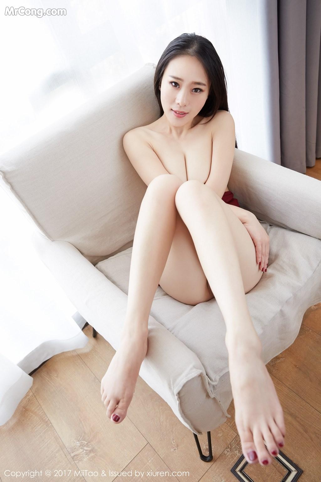 Image MiiTao-Vol.079-Yu-Wei-MrCong.com-038 in post MiiTao Vol.079: Người mẫu Yu Wei (雨薇) (54 ảnh)