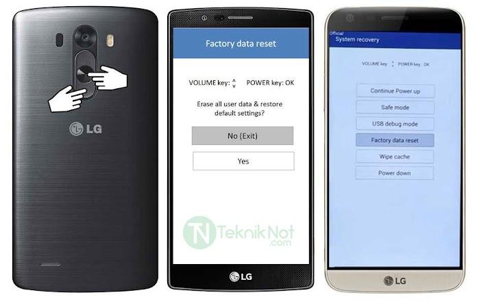 LG Telefonlara Format Atma Rehberi Hard Reset