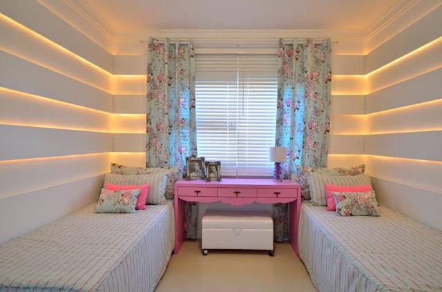 Dormitorio para chicas recamara para jovencitas for Cuartos para ninas gemelas